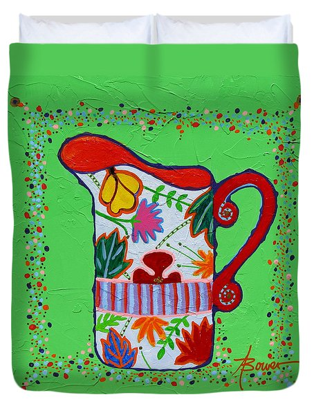 Pretty As A Pitcher Duvet Cover
