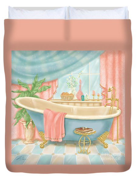 Pretty Bathrooms I Duvet Cover