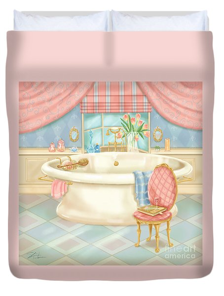 Pretty Bathrooms II Duvet Cover