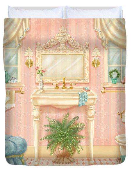 Pretty Bathrooms IIi Duvet Cover