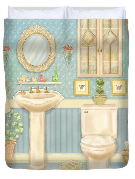 Pretty Bathrooms Iv Duvet Cover