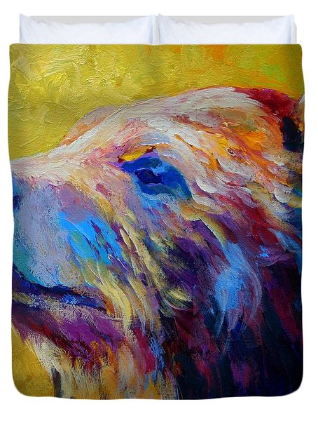 Pretty Boy - Grizzly Bear Duvet Cover