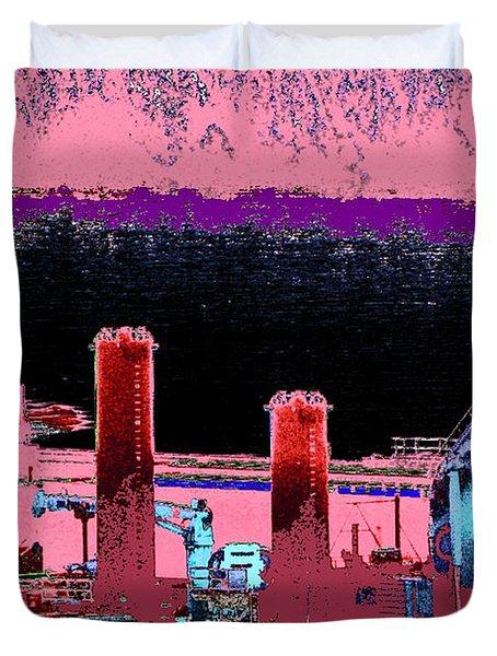 Pretty In Pink Duvet Cover by Rachel Christine Nowicki
