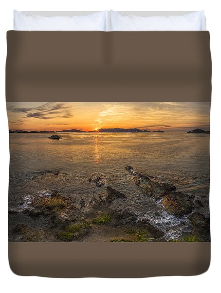 Pretty Klip Point Duvet Cover