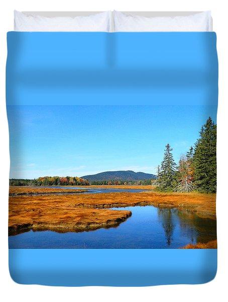 Pretty Marsh Duvet Cover