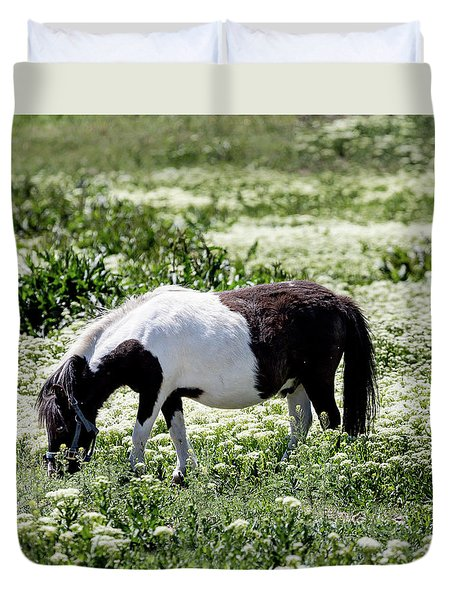 Pretty Painted Pony Duvet Cover by James BO Insogna