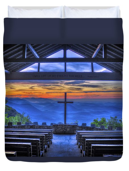 Pretty Place Chapel Sunrise 777  Duvet Cover