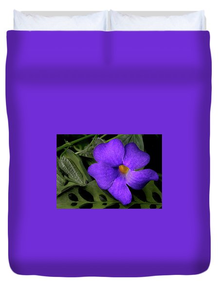 Pretty Purple Flower Duvet Cover