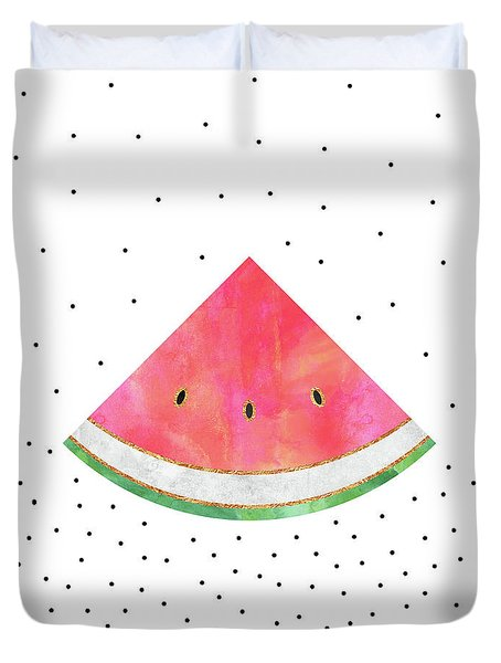 Pretty Watermelon Duvet Cover