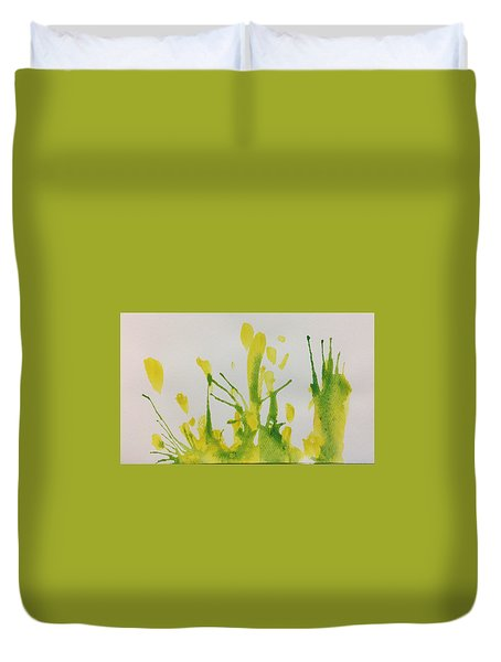 Pretty Weeds Duvet Cover