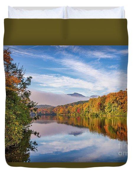Price Lake Autumn Duvet Cover