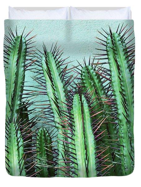 Prick Cactus Duvet Cover