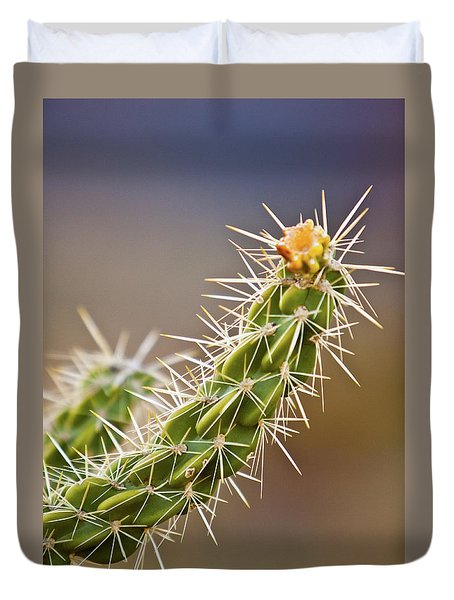 Prickly Branch Duvet Cover