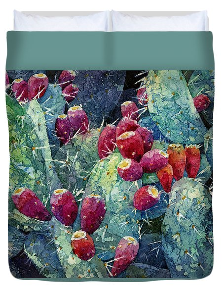 Prickly Pear 2 Duvet Cover