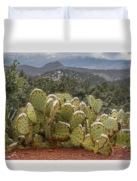 Cactus Country Duvet Cover