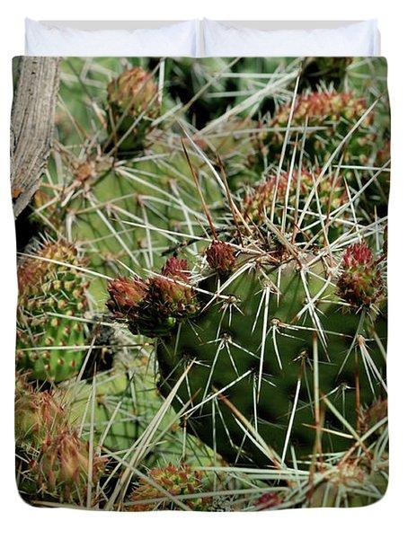 Prickly Pear Revival Duvet Cover