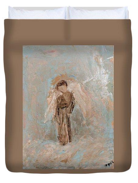 Priest Angel Duvet Cover