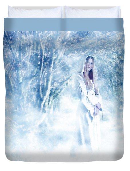 Priestess Duvet Cover by John Edwards