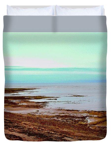 Prim Point Beach Duvet Cover