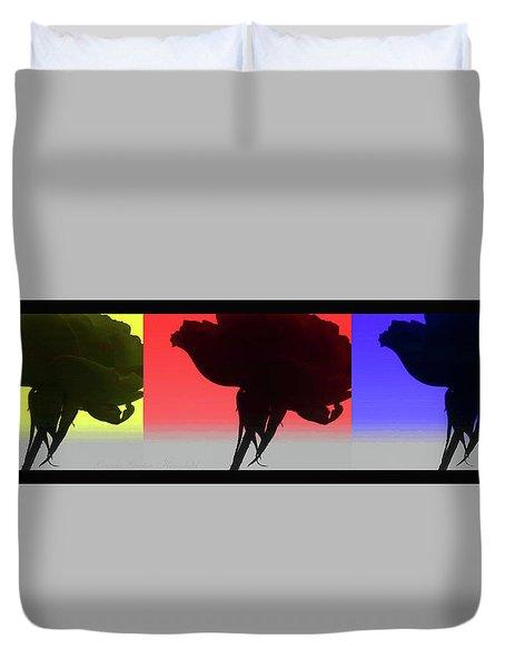 Primarily Yours - True Colors - Original Photo Collage Design Duvet Cover