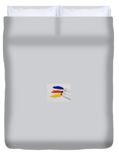 Primary Colors Duvet Cover