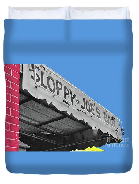 Duvet Cover featuring the photograph Primary Sloppy Joes by Jost Houk