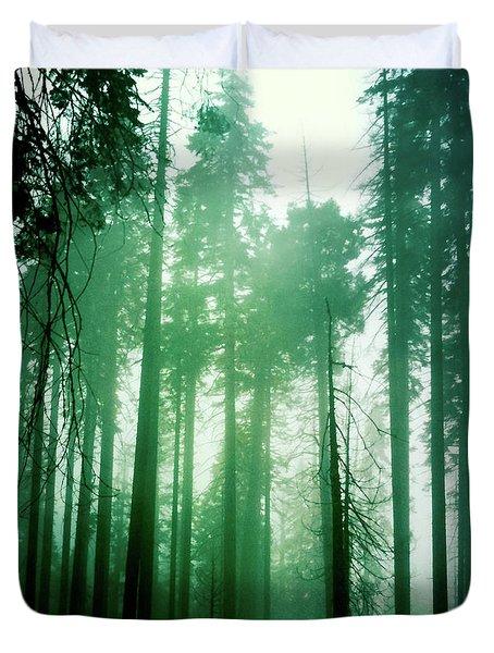 Primeval Forest Duvet Cover