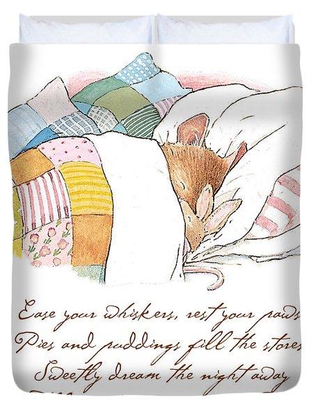 Primrose Goes To Sleep Duvet Cover