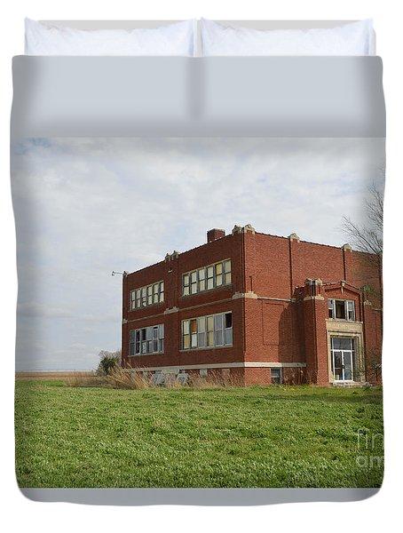 Primrose Nebraska School Duvet Cover