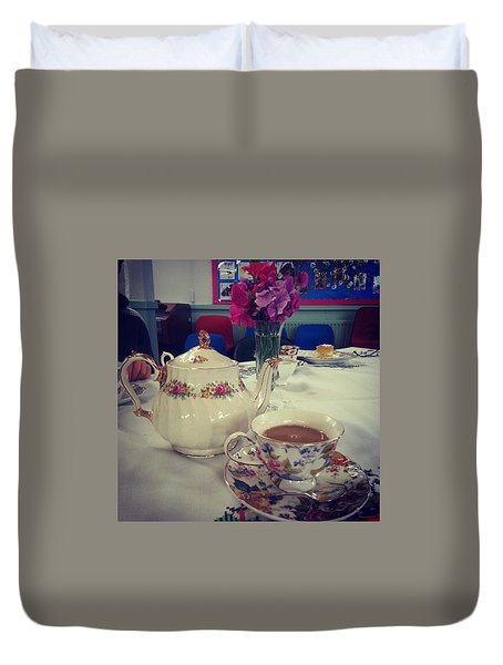 Primrose Vintage Tea Duvet Cover