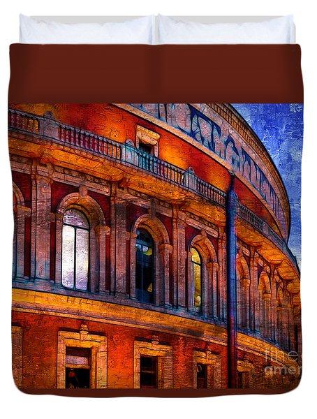 Royal Albert Hall, London Duvet Cover