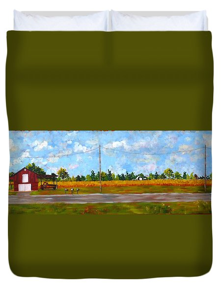 Prince Edward County Duvet Cover