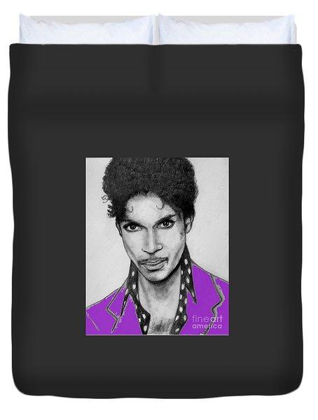 Prince In Purple Duvet Cover