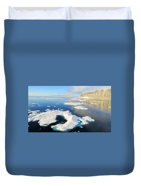 Prince Leopold Island Duvet Cover