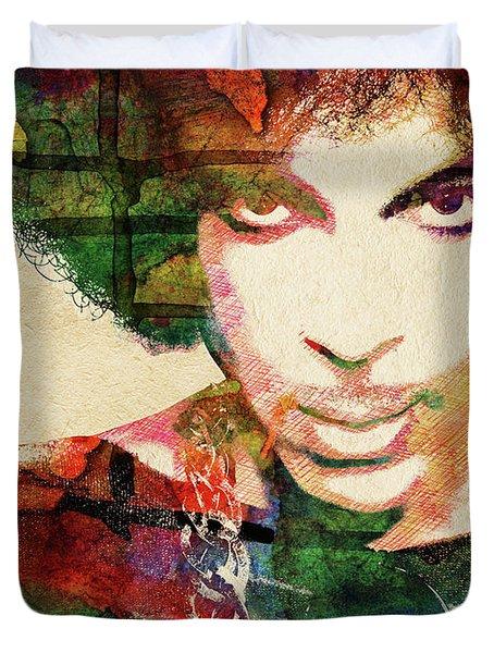 Prince Portrait Duvet Cover