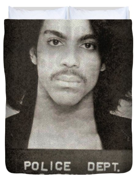 Prince Mug Shot Vertical Duvet Cover