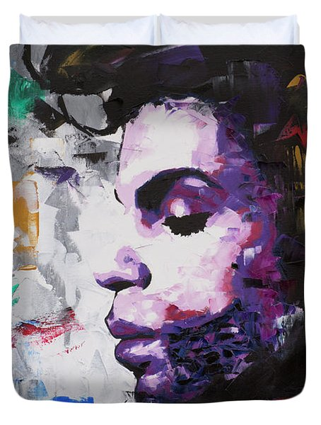 Prince Musician II Duvet Cover