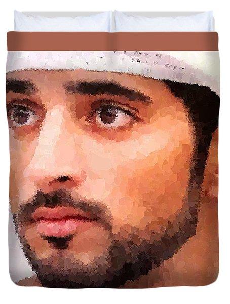 Prince Of Dubai Duvet Cover