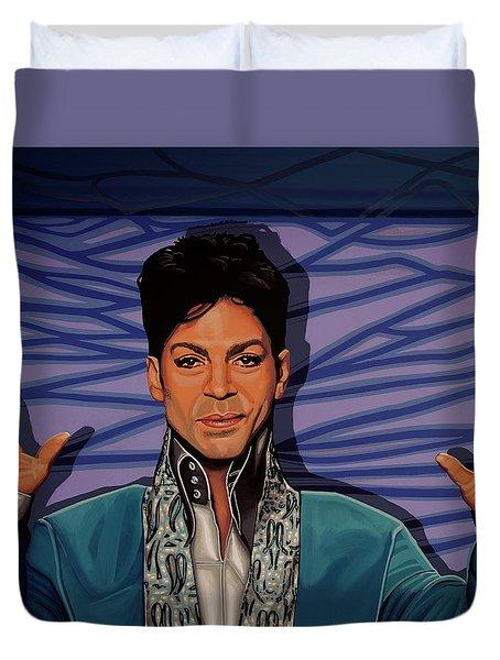 Prince 2 Duvet Cover by Paul Meijering