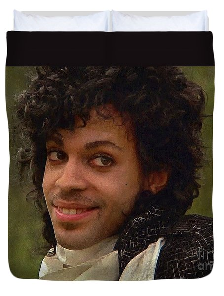 Prince Duvet Cover by Sergey Lukashin
