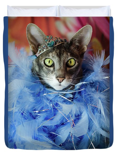 Princess Cat Duvet Cover