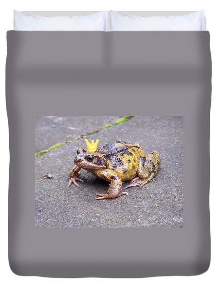 Princess Frog Duvet Cover