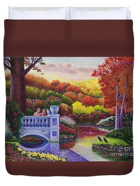 Princess Gardens Duvet Cover
