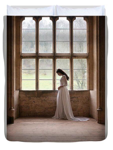 Princess In The Castle Duvet Cover