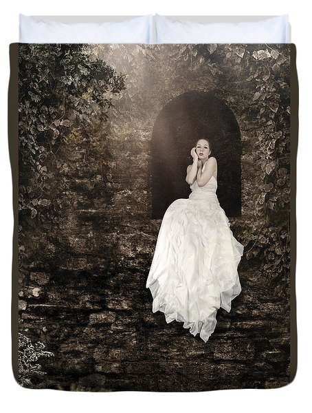 Princess In The Tower Duvet Cover