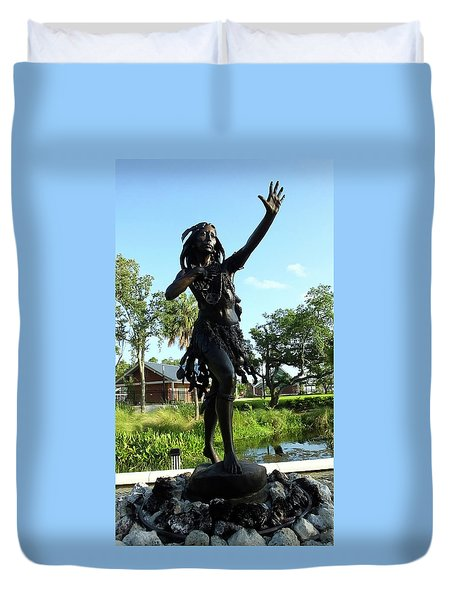 Princess Ulele Statue Duvet Cover