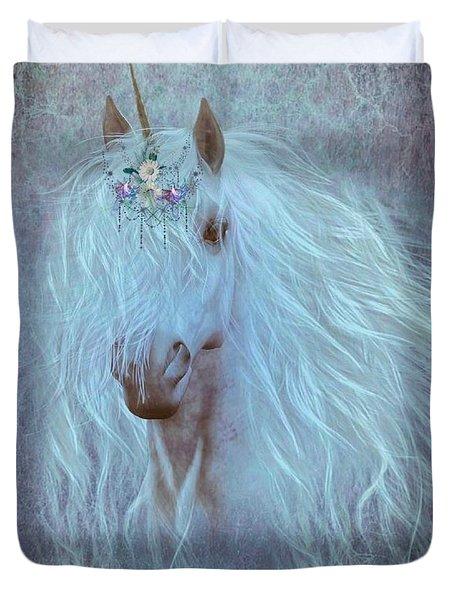 Princess Unicorn Duvet Cover