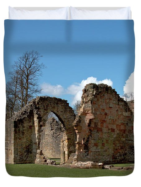 Priory Ruins Duvet Cover