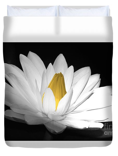 Pristine Duvet Cover by Cindy Manero