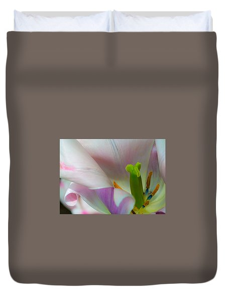 Private Showing Duvet Cover
